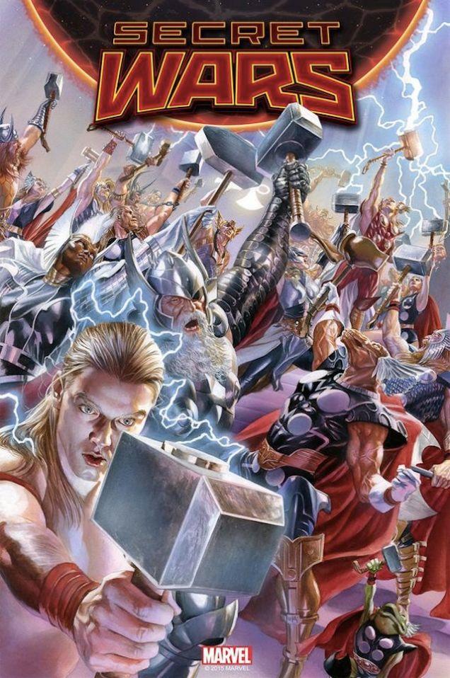 Secret Wars issue 2